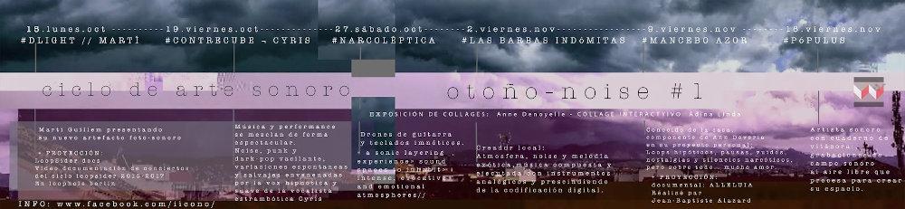 2018, Ciclo Otoño - Noise en iicono