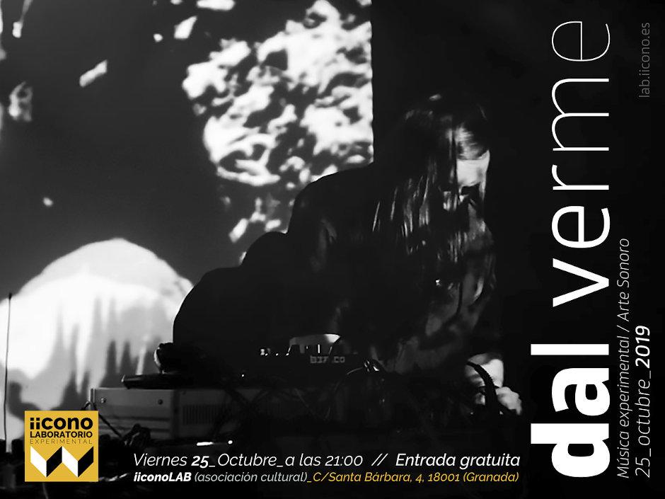 Concierto del músico granadino Carlos Dla Verme en iicono Lab el 25 de octubre de 2019