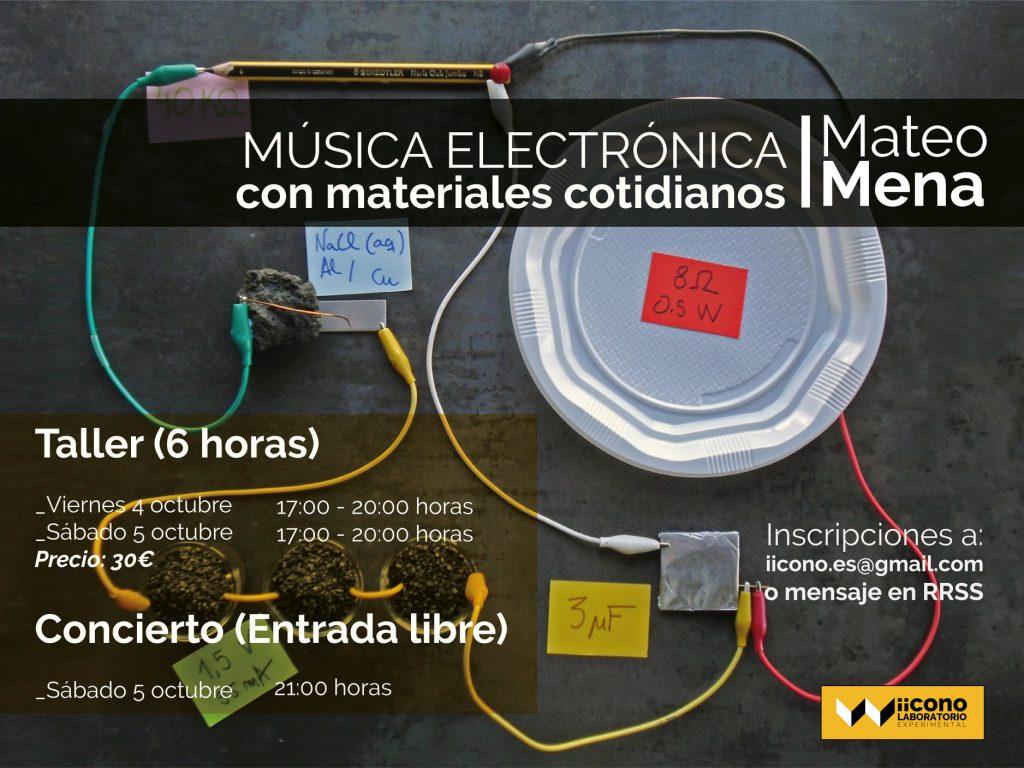 Mateo Mena en iicono LAB 4 y 5 de octubre de 2019