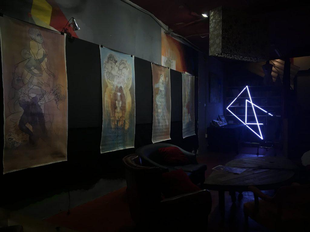 Exposición de pintura de la artista Nacha López en iicono LAB