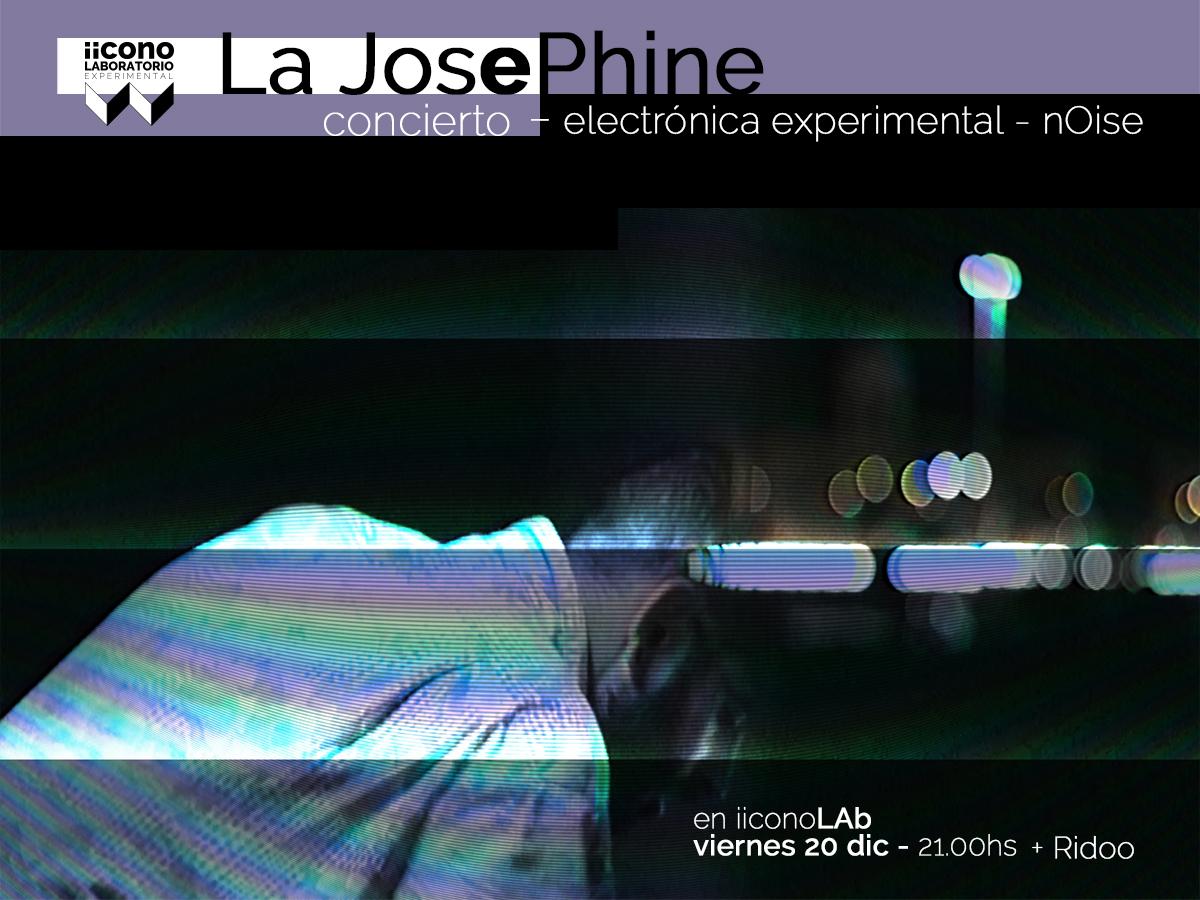 Cartel de La Josephine para iiCONO|LAB#05